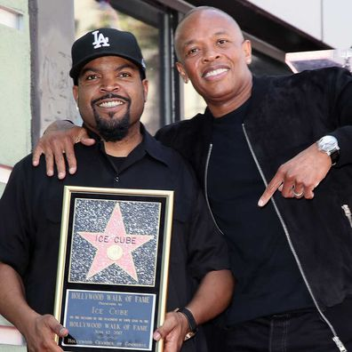Ice Cube and Dr Dre.
