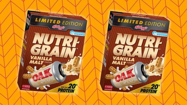 Nutri-Grain x Oak vanilla