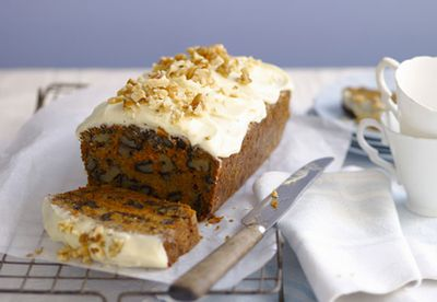 Heavenly carrot cake