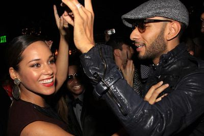 Alicia Keys married producer Swizz Beatz in August. The couple now have a child together.