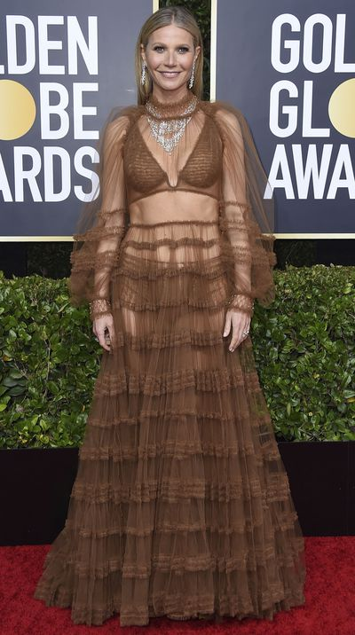 Gwyneth Paltrow at the 2020 Golden Globes.
