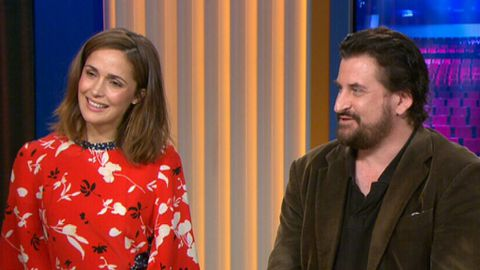 Dynamic duo: Rose Byrne and Lachy Hulme