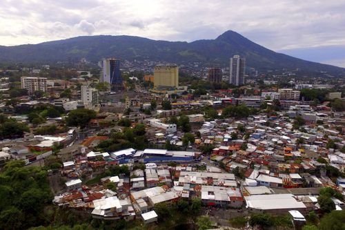 There is a great deal of poverty and gang crime in El Salvador with many leaving because it isn't possible to raise a family there.