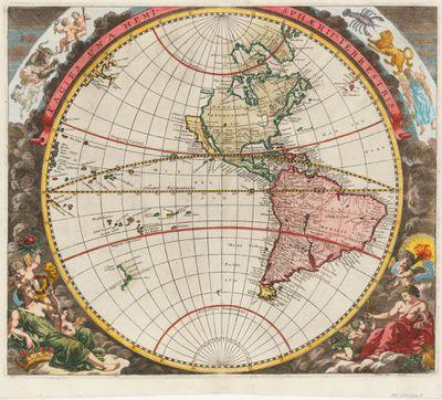 Johan Zahn map, 1696