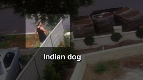 Simon Hoblos was caught on camera making racial taunts in a foul-mouthed tirade.