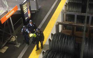 Man killed after slipping onto tracks at Sydney's Rockdale Station