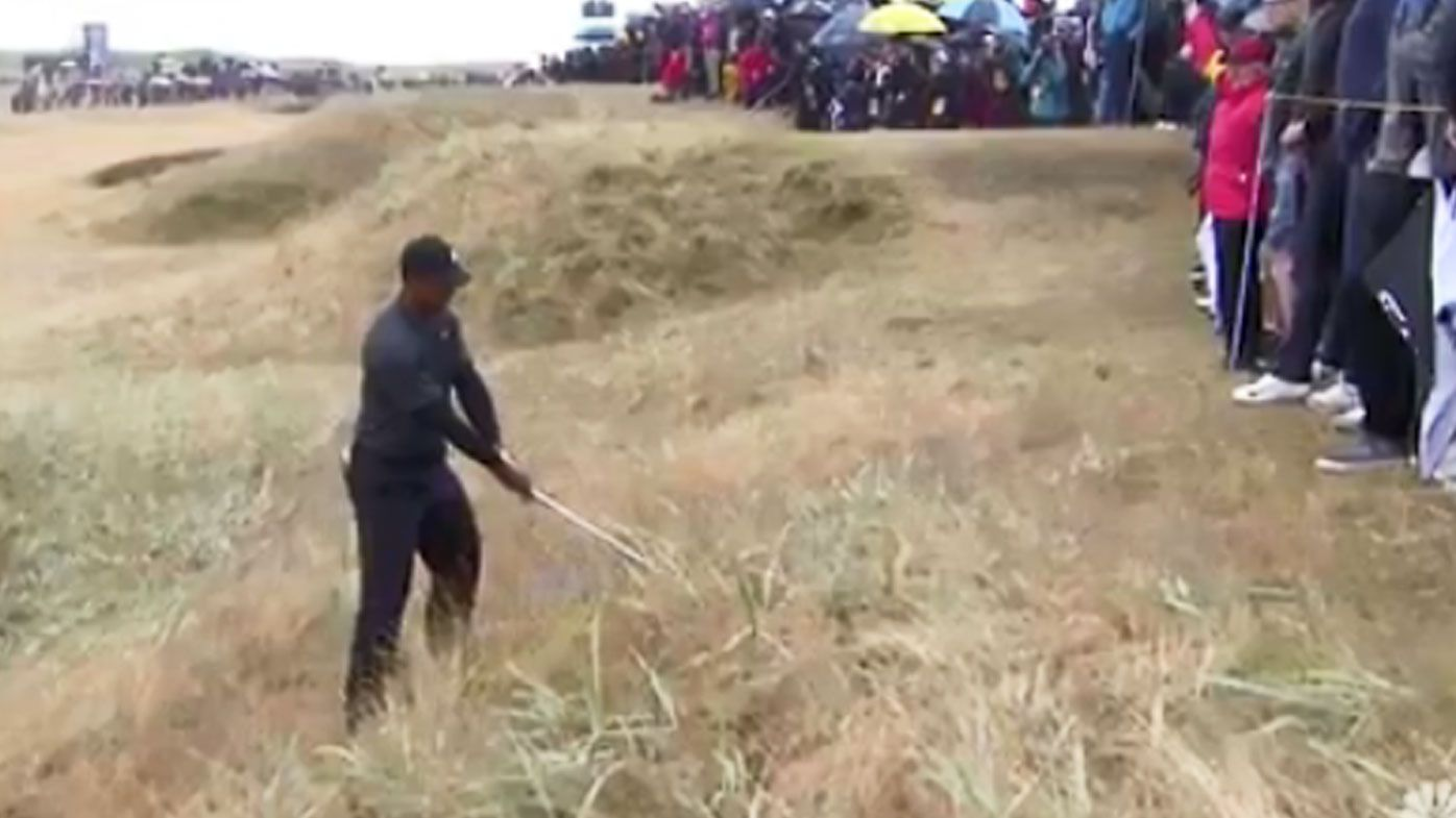 Tiger Woods is Making a Move at the Open Championship