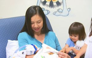 Family visits helping premature babies after sibling ban lifted