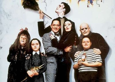 <strong>The Addams Family</strong>