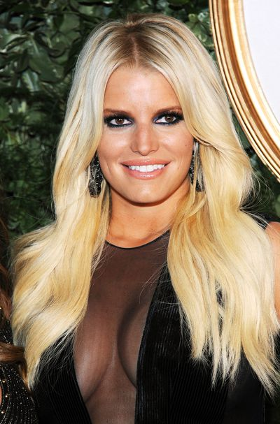 Jessica Simpson at the Jessica Simpson Collection Presentation Spring 2016 during New York Fashion Week, September, 2015