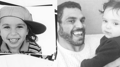 Greg Inglis reveals he has a second son in Father's Day post