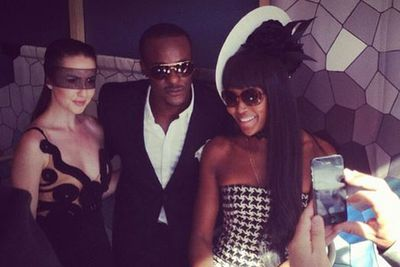 @timomatictheone: S/O to #lexusaustralia for a great Derby Day in Melb with great company! @Naomicampbell @taliafowler1 @channel9 @officialgottalentau #lovemylife<br/>