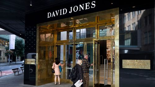 A staff member working in the food hall at David Jones in the Sydney CBD has tested positive for coronavirus.