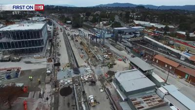 The soon to be completed $66 million upgrade of Ringwood Station and bus interchange will help shoppers keen to spend reach the new precinct.