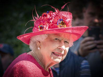 Queen Elizabeth Scotland summer break