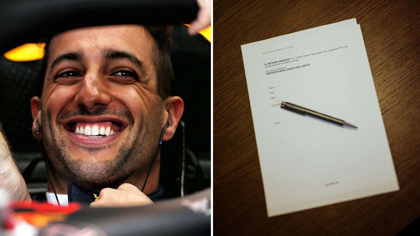 Ricciardo troll