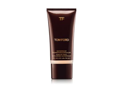 """<p><a href=""""http://www.tomford.com/waterproof-foundation-and-concealer/T4J0.html?cgid=beauty-face-foundation&dwvar_T4J0_color=CREAM#start=3"""" target=""""_blank"""">Tom Ford Waterproof Foundation and Concealer in One, $82.</a></p> <p></p>"""