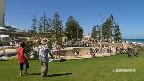 The project has revived the area's former 'Snake Pit' with a new 12-foot competition-grade skate bowl. (9NEWS)