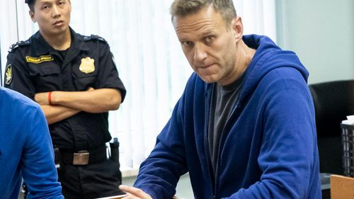 Mr Navalny, Russia's most outspoken opposition figure, was detained by police in July 2019 following a sweep of opposition candidates in the days leading up to anti-government demonstrations in the capital.