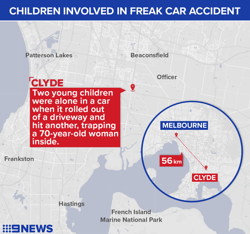 The incident took place south east of Melbourne.
