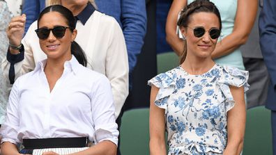 Kate Meghan and Pippa Wimbledon