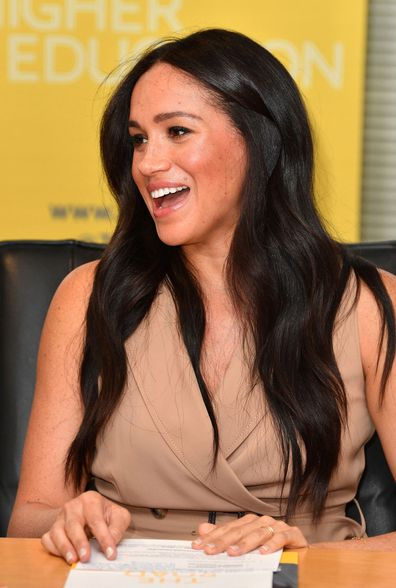 Meghan Markle afraid to 'screw up' so uses notes for university speech