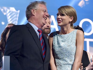 Scott and Taylor Swift in 2015.