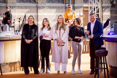 Dutch royals celebrate King's Day, April 2021