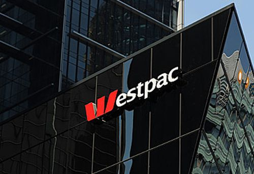 Westpac logo on building (Getty)
