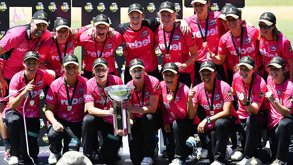 Cricket: Sydney Sixers thrash Perth Scorchers to win WBBL final