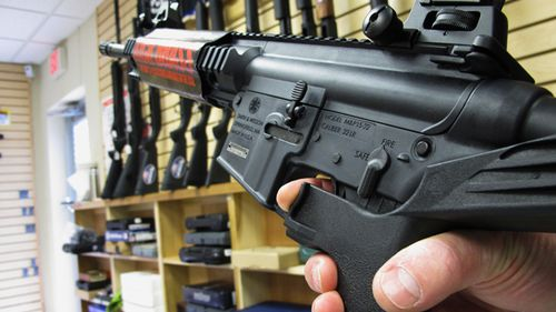 'Bump stocks' convert semiautomatic firearms into fully automatic ones. (AP)