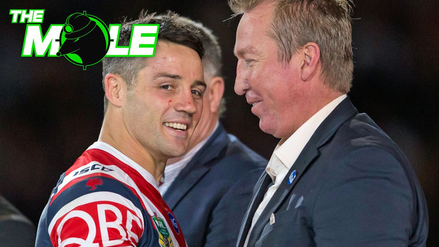 Cooper Cronk and Trent Robinson