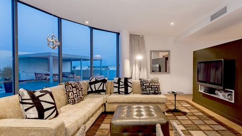The apartment is described as one of Canberra's finest.