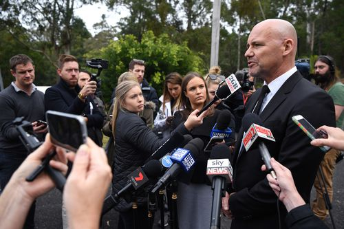 "Det Insp Jubelin said ""every day was a nightmare"" for William's family. Picture: AAP"