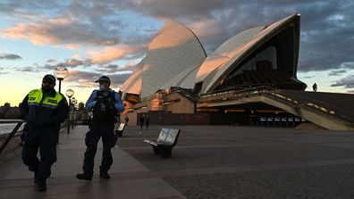 Sydney was plunged into lockdown in June after a new wave of COVID-19 in the city.