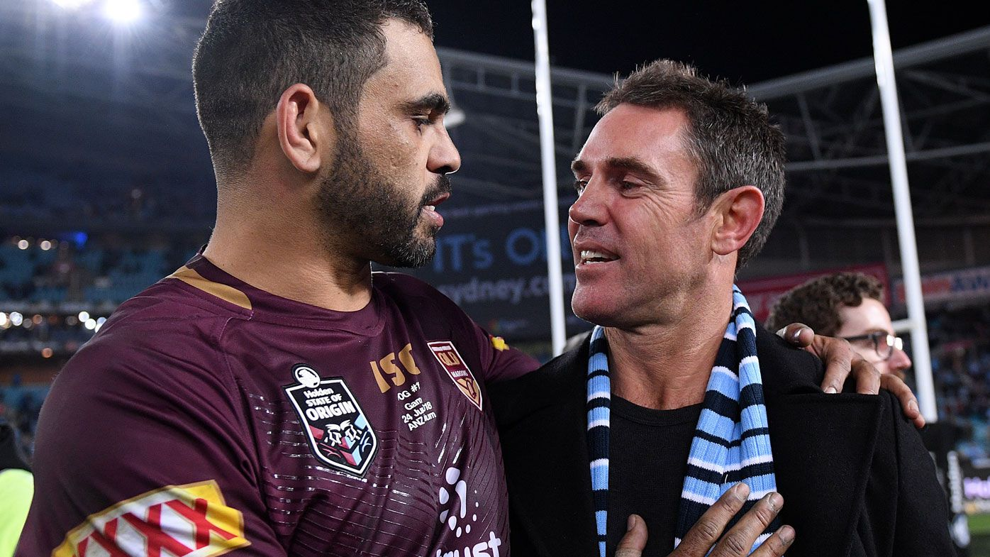 'It would have been 4-4 if we had him': Brad Fittler says Greg Inglis' Maroons move cost Blues