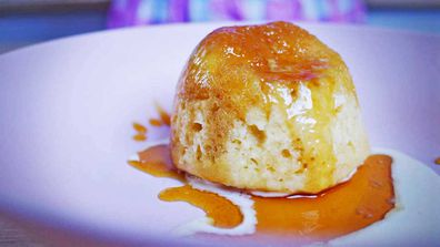 The ultimate nostalgic self-saucing golden syrup pudding