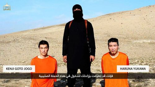 Two Japanese hostages have been threatened in a new video from ISIL.