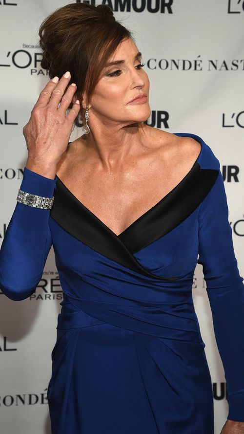 The 66-year-old conjured up the old Hollywood magic of vintage stars like Grace Kelly and Audrey Hepburn. (Getty)