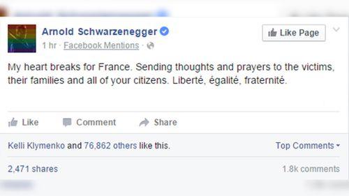 Austrian-born American actor and former California Governor Arnold Schwarzenegger. (Facebook/Arnold Schwarzenegger)