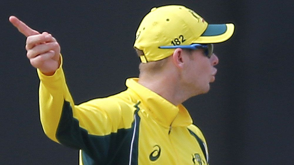 Steve Smith will miss the remainder of the ODI series in Sri Lanka. (AAP)