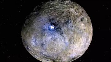 An artist's impression of Ceres. Picture: NASA