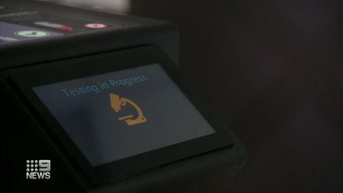 New rapid COVID testing machine