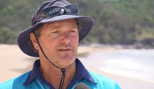 Greg Hackfath is urging people to help out this busy beach season.
