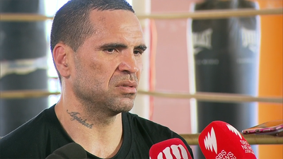 Anthony Mundine calls anthem 'white supremacist' song and won't stand for it against Jeff Horn