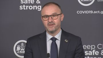 ACT Chief Minister Andrew Barr said the territory recorded 14 new coronavirus cases today.