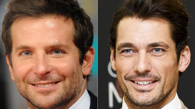 <p>Bradley Cooper and English model David Gandy's oval-shaped eyes took it out for the men. </p><p></p>