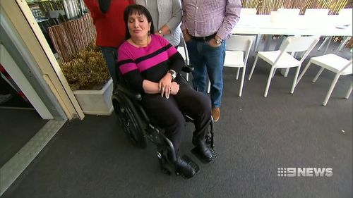 One of her alleged victims is Nadine Jebraiel, a 53-year-old woman who is heavily disabled with Multiple Sclerosis.