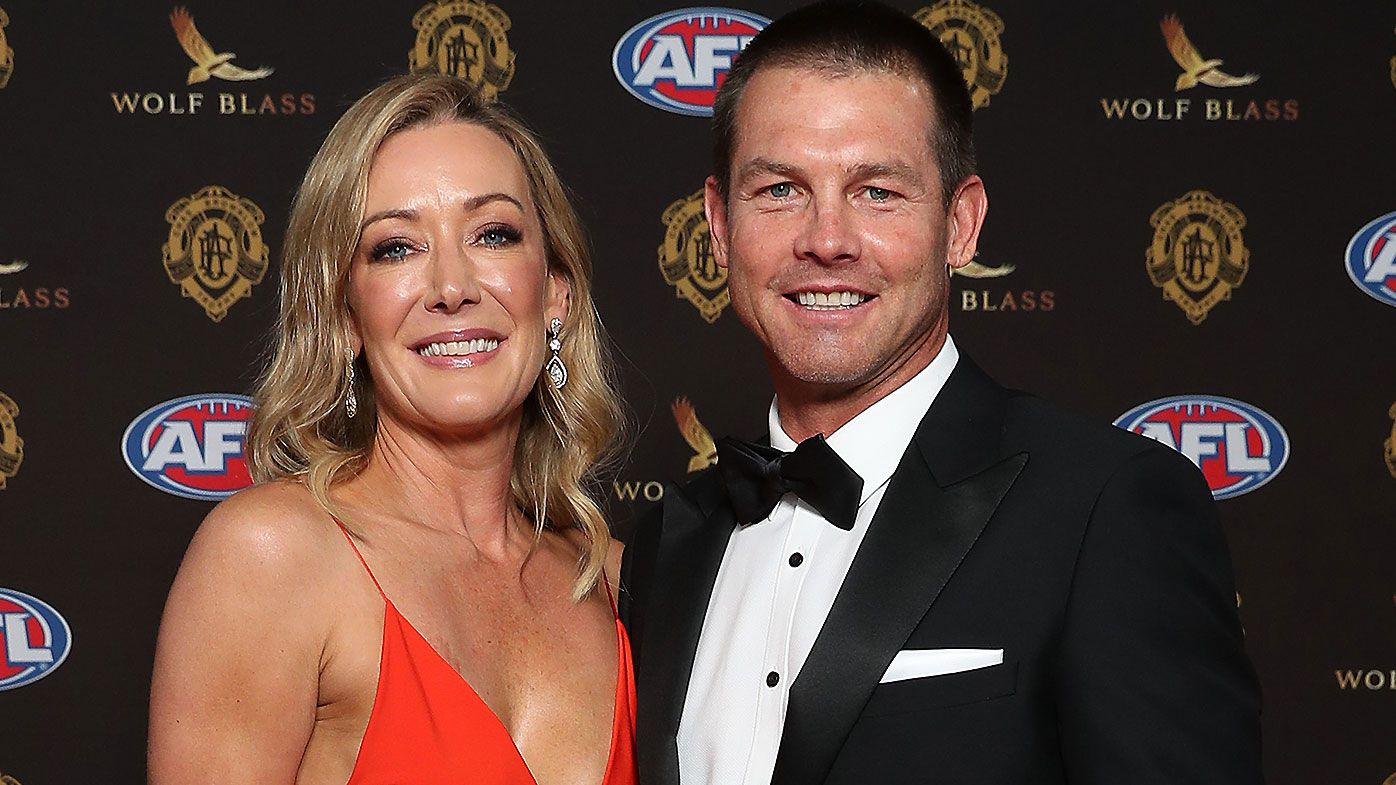 'It's just great to be here': Ben Cousins makes happy and healthy appearance at Brownlow Medal