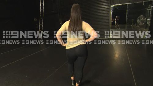 The wise cracks of her wardrobe malfunction instantly flooded social media. (9NEWS)